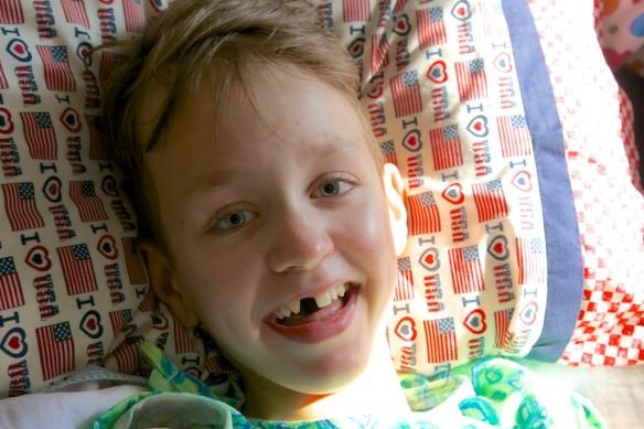 Aidan Back Surgery 0203